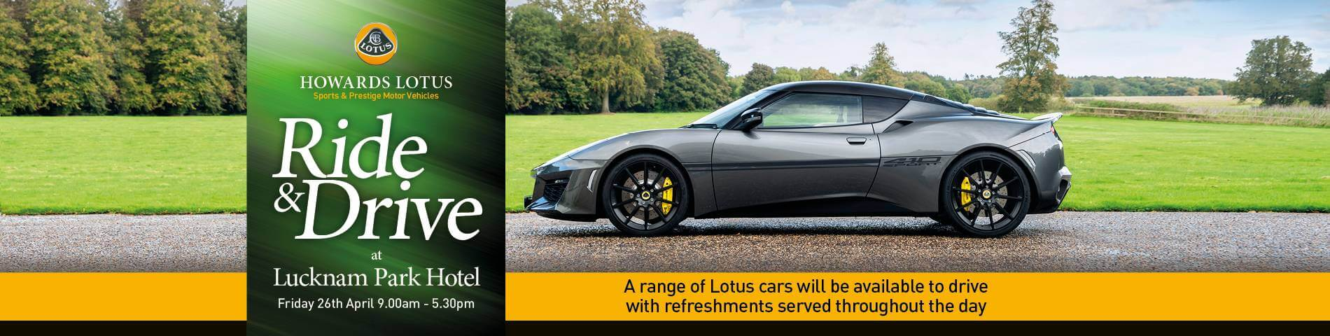 Lotus Ride & Drive Event