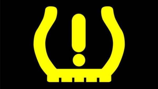 Low tyre pressure