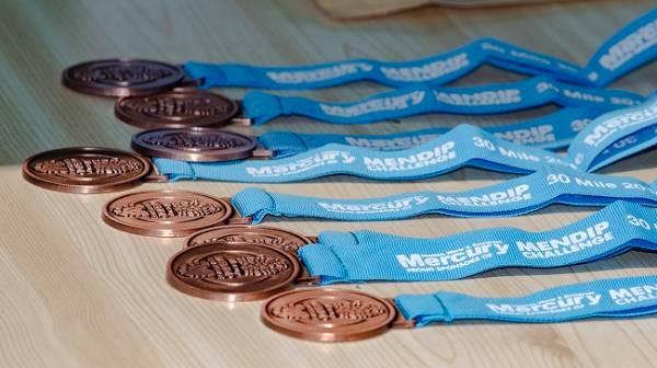 Mendip Challenge Medals