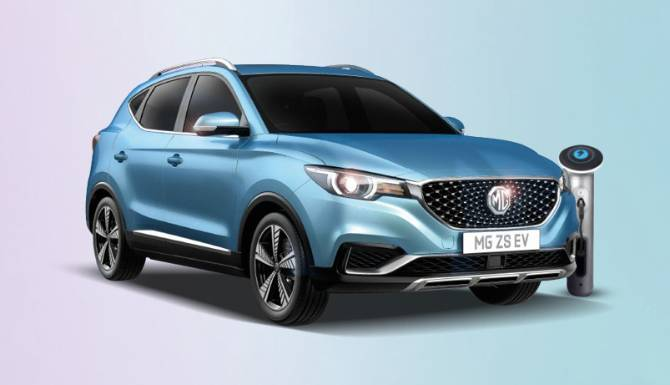 MG ZS EV TETS DRIVE BOOKING BLOCK
