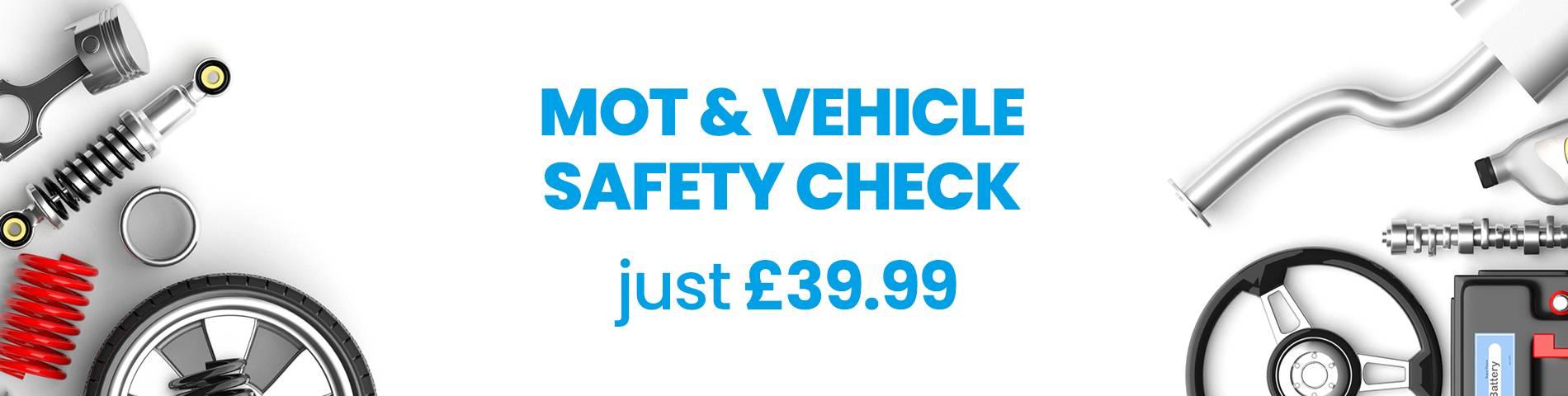 MOT Vehicle Safety Check