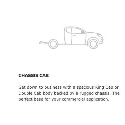 Navara Chassis Cab