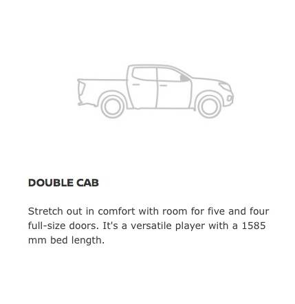 Navara Double Cab