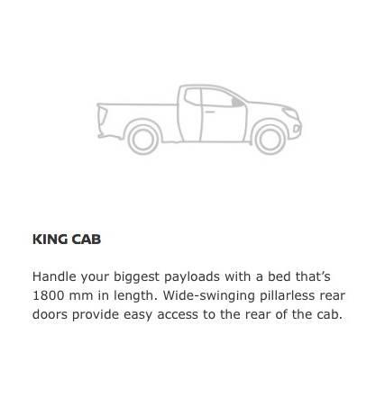 Navara King Cab