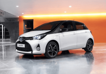Revised Toyota Yaris Line-up for 2016
