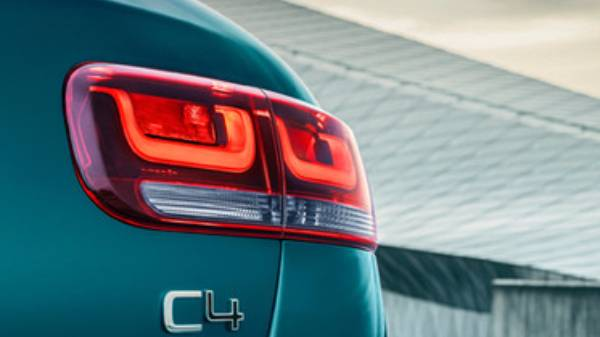 New C4 Cactus rear light