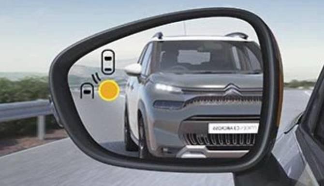 Citroen C3 Aircross Blind-Spot Monitoring System