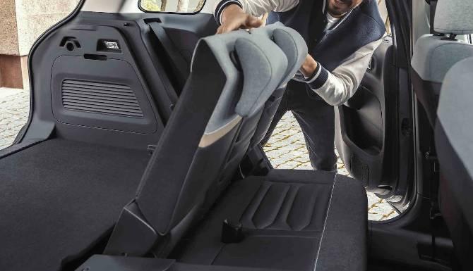 New Citroen C3 Aircross Fold-Flat Seats
