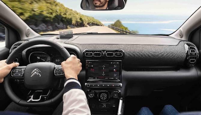 "New Citroen C3 Aircross Interior Front including 9"" touchscreen"