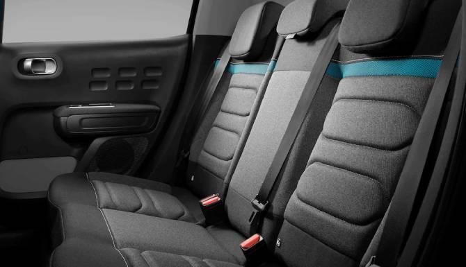 new citroen c3 interior seating