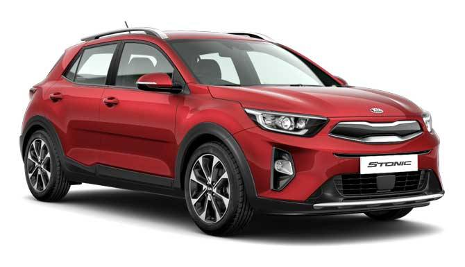 New Kia Stonic in red 2018