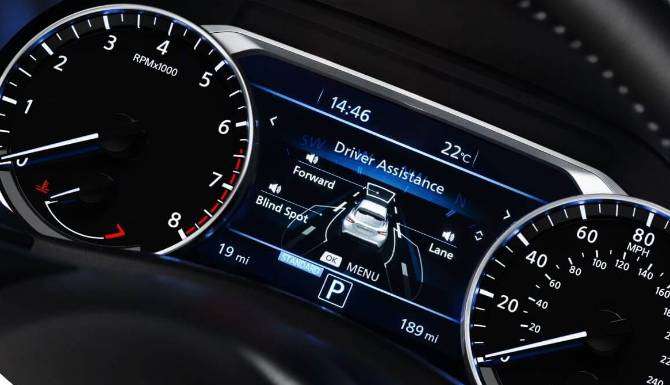 new nissan juke digital driver display