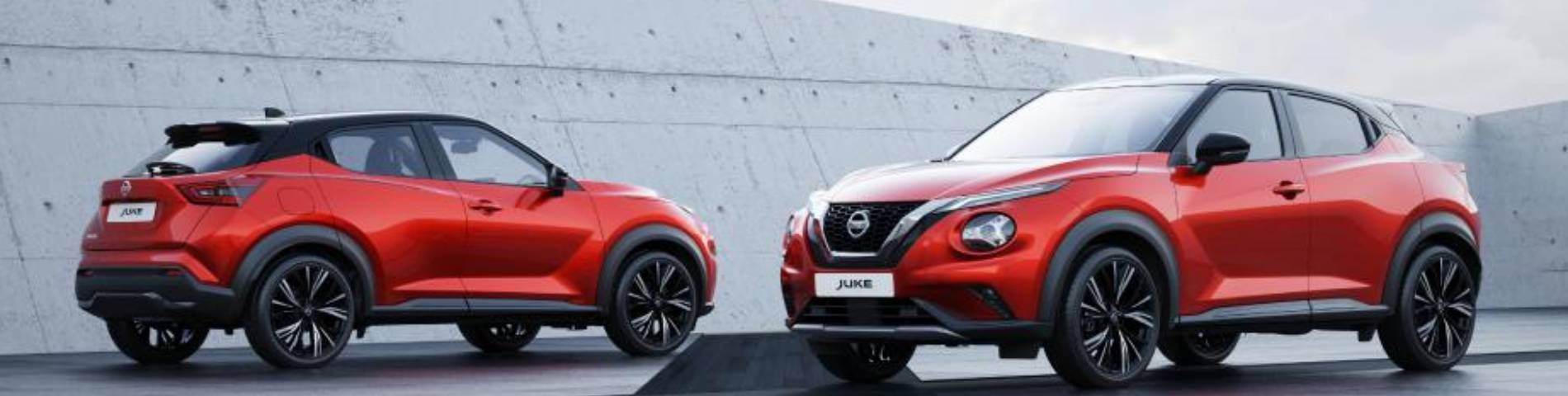new nissan juke front and rear view