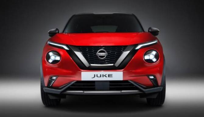 new nissan juke front grill view