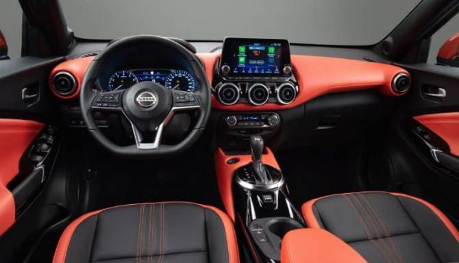 new nissan juke interior drivers view