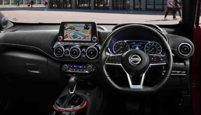 New Nissan Juke Interior