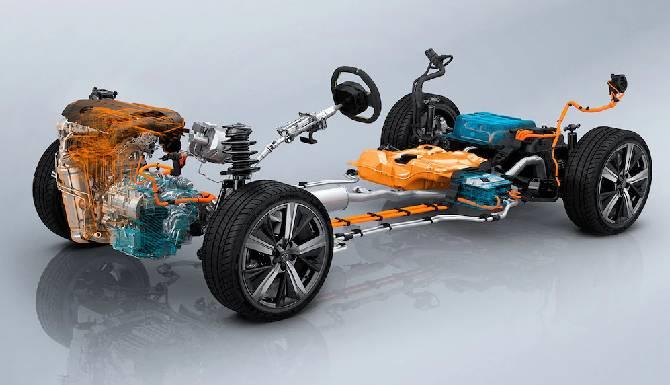 New Peugeot 308 hybrid system in detail