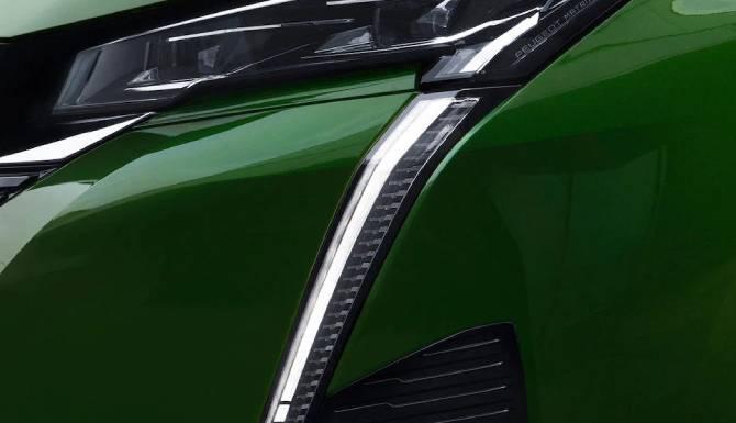 new peugeot 308 led headlights