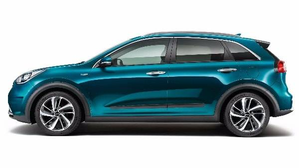 Niro side view blue