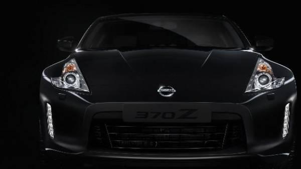 nissan 370z- black edition