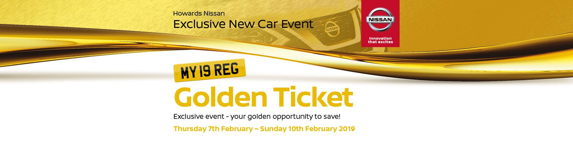 Nissan Golden Ticket