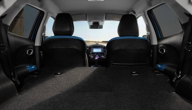 Nissan Juke Boot Interior