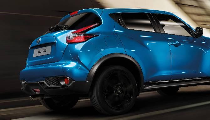 Nissan Juke Contours