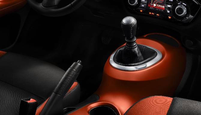 Nissan Juke Interior Gear