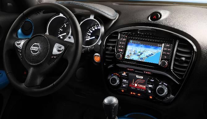 Nissan Juke Interior Console