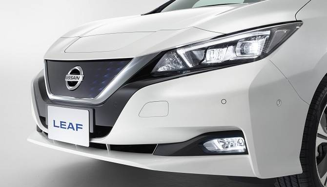 Nissan LEAF 2018 Aerodynamic Design