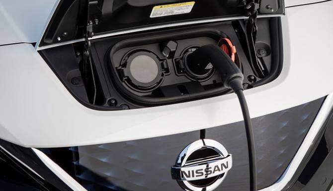 Nissan LEAF 2018 Charging