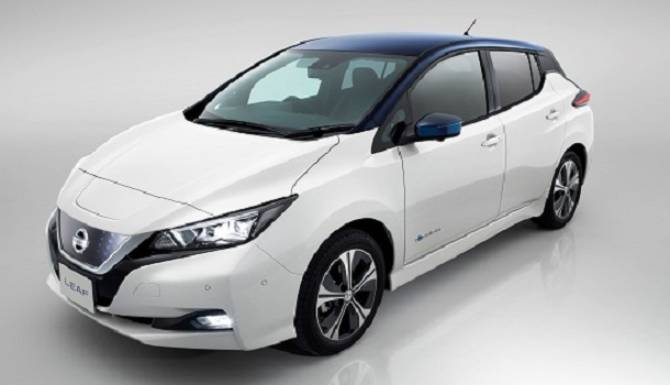 Nissan LEAF 2018 Exterior Cut Out