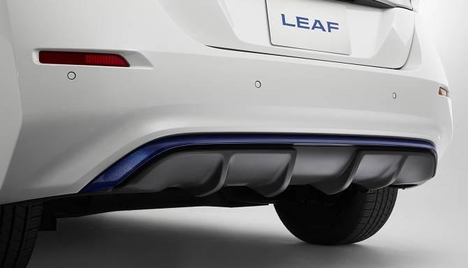Nissan LEAF Rear Bumper