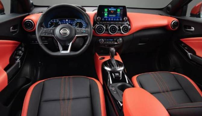 nissan new juke interior