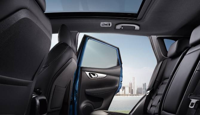 Nissan Qashqai 2019 Interior Seats With Sunroof