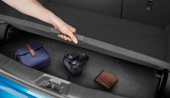 Nissan Qashqai 2019 Secret Boot Compartment