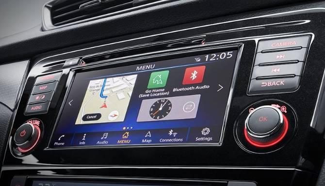 Nissan Qashqai 2019 Touchscreen 2