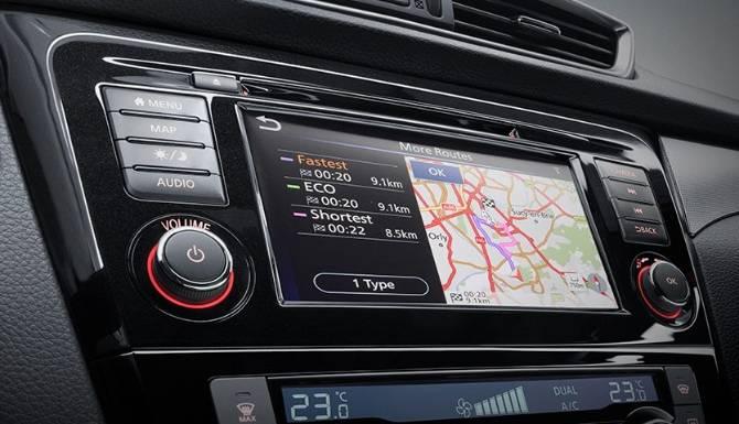 Nissan Qashqai 2019 Touchscreen