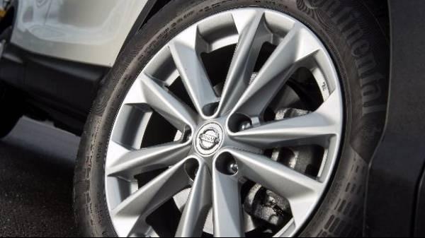 Nissan Qashqai alloy 3
