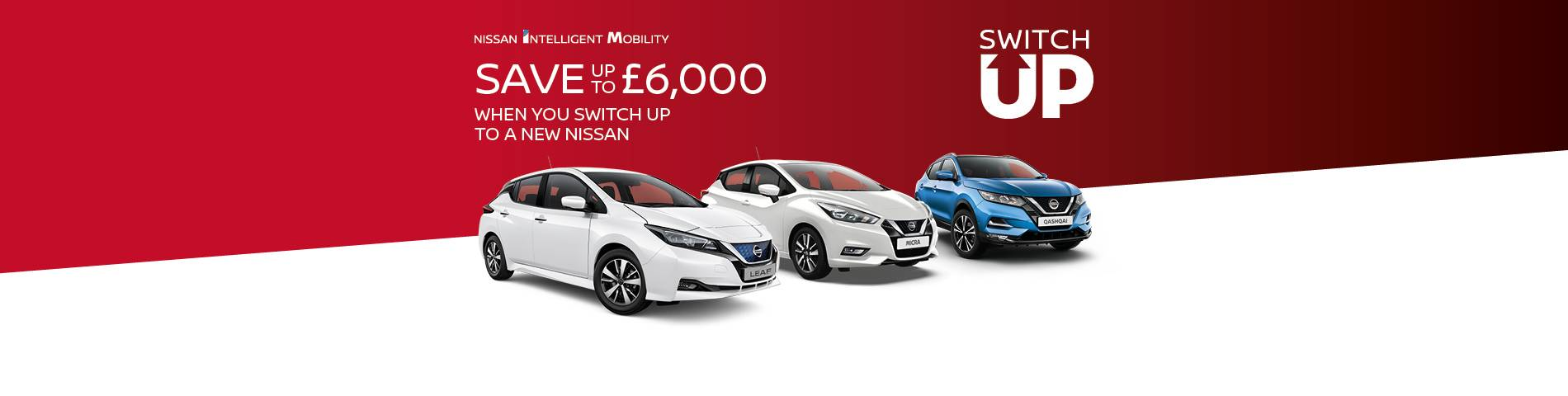 Nissan Switch Up Homepage