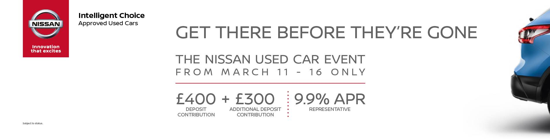 Nissan Used Car Event
