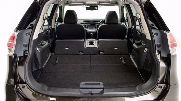 nissan x-trail - flexible boot space