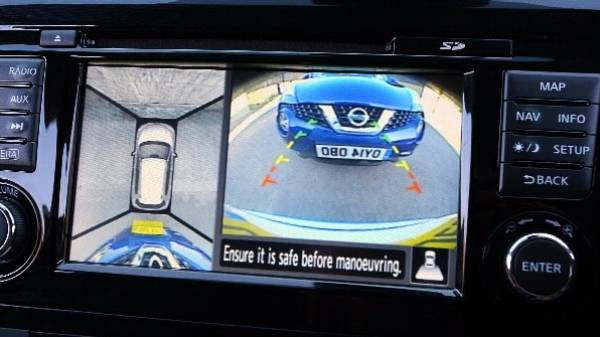 NISSAN X-TRAIL - REVERSING CAMERA