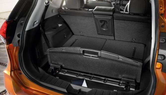 NISSAN X TRAIL 2019 BOOT SPACE SECRET COMPARTMENT
