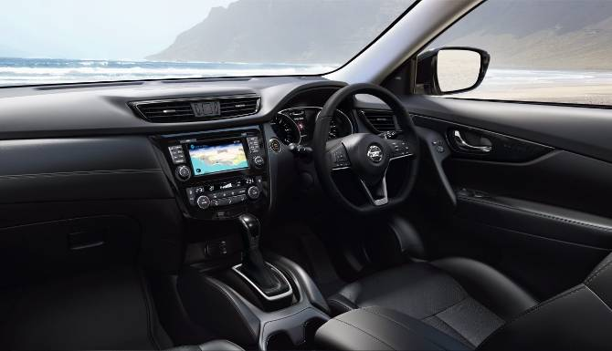 NISSAN X TRAIL 2019 INTERIOR DASHBOARD