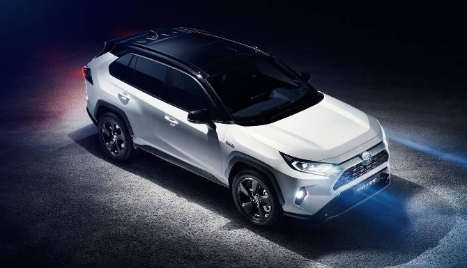 Toyota Rav4 Overhead