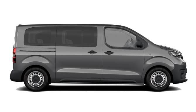 Passenger Van Dimensions PROACE