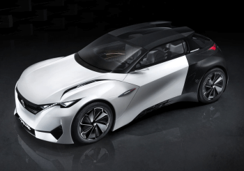 Peugeot Fractal Concept - An Electric Urban Coupe