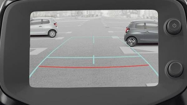 peugeot 108 3 door 7inch reversing camera and display