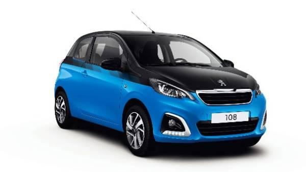 Peugeot 108 cutout